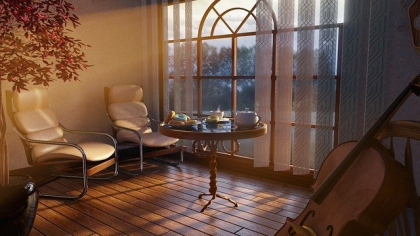 Modne i wygodne - fotele tapicerowane do salonu