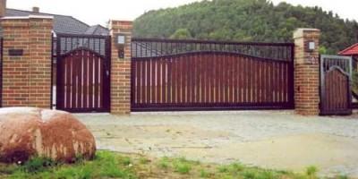 Ogrodzenia metalowe i drewniane